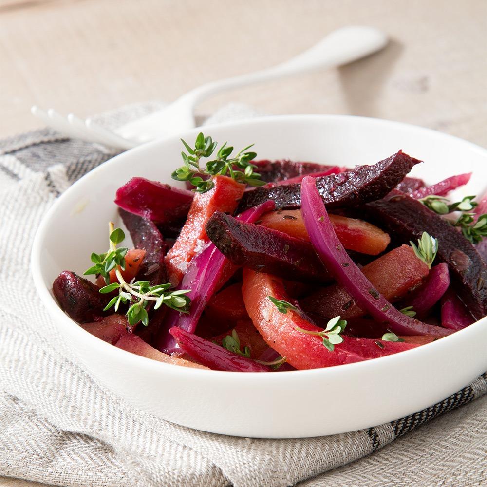Landmads grillede grøntsager