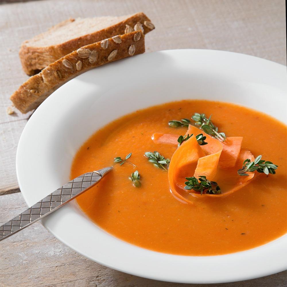 Landmads gulerodssuppe