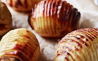 Hasselbackkartofler med Kirsebær Sirup