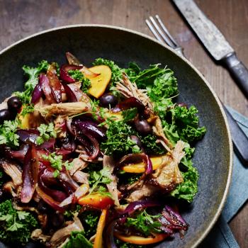 Landmads andelår i salat