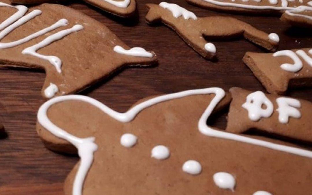 Landmads julekagefigurer