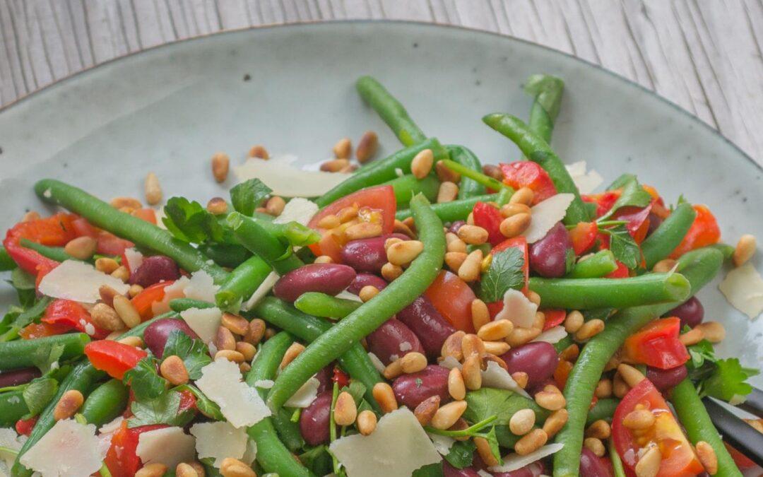 Landmads gode bønne salat