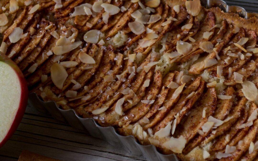 Landmads æbletærte
