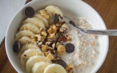 Landmads – Overnight oats med banan