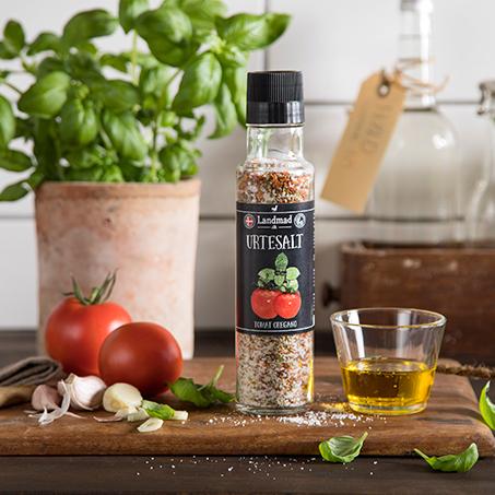 Urtesalt tomat oregano